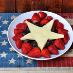 All American Blue Corn Chip Turkey Balls and American Flag Turkey Skewers