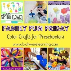 Color Crafts for Preschoolers-1