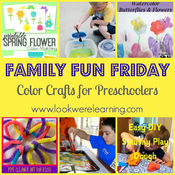 Color Crafts for Preschoolers-1