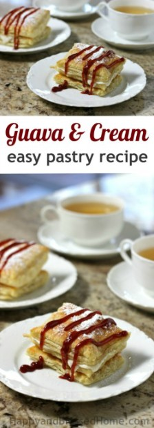 Easy-Recipe-Cuban-style-Guava-and-Cream-filled-Pastry
