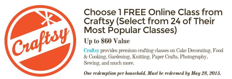 FREE Craftsy Class