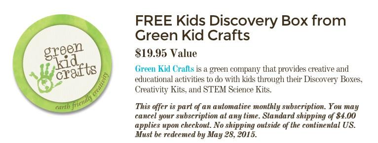 FREE Kids Discovery Box