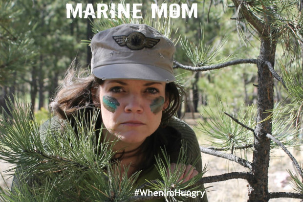 I'm Marine Mom when I'm Hungry from HappyandBlessedHome.com