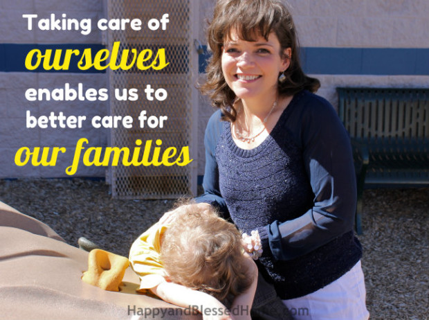 Taking care of ourselves enables us to better care for our families Free Health Screenings article on HappyandBlessedHome.com