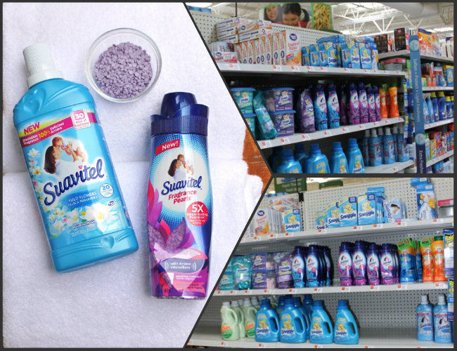 You can find Suaviel Laundry Products at Walmart