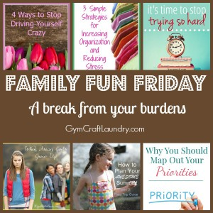 A break from your burdens