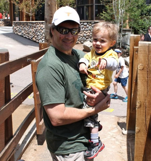 At the Zoo with Dad