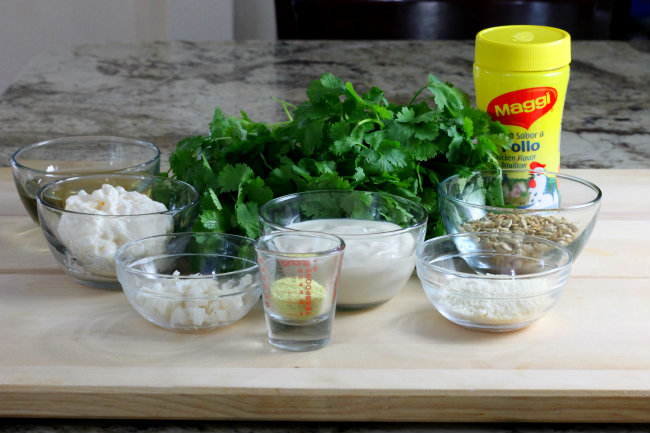 For a crisp nutty flavor try this creamy Cilantro Pesto at your next summer BBQ step-by-step recipe at HappyandBlessedHome.com