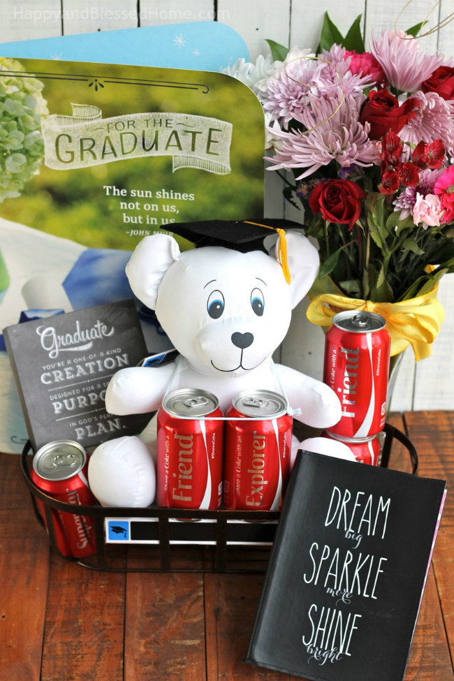 Gift Ideas for Graduates with Coca Cola Memories from HappyandBlessedHome.com