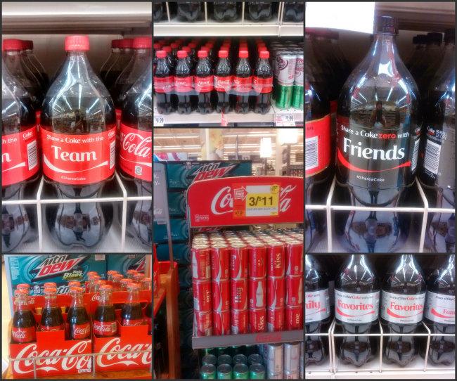So many ways to celebrate with Coca Cola