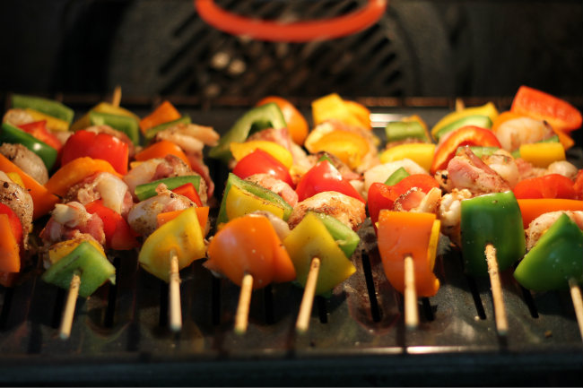 These shrimp skewers can be broiled inside tips by HappyandBlessedHome