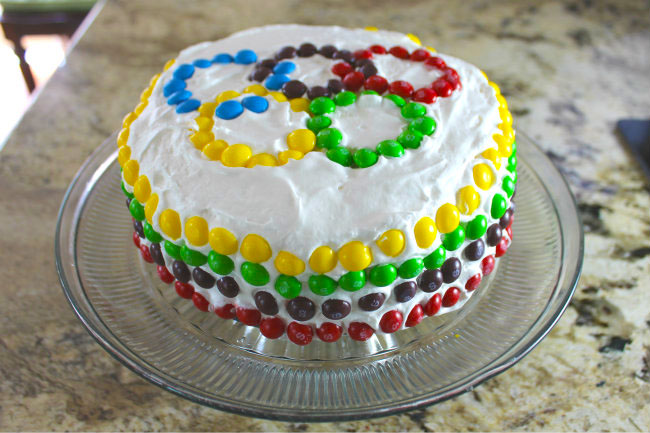 5 Step Easy Ice Cream Cake Recipe and FREE Olympic Activity Pack for Kids