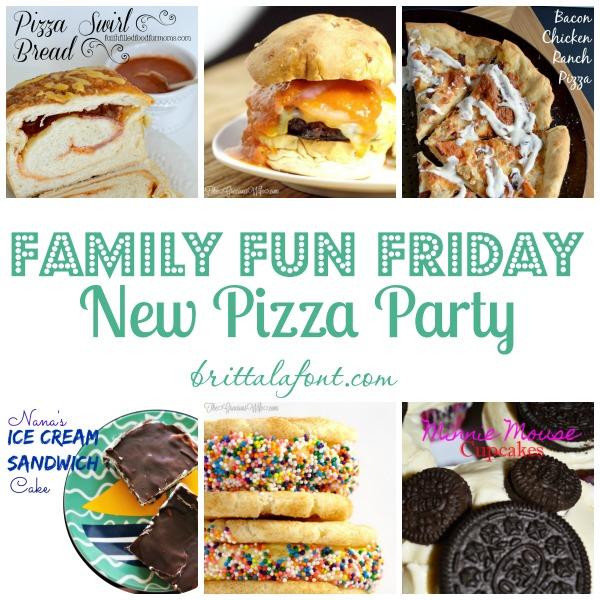 new pizza party recipes