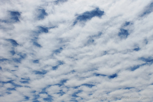 10 Tips for Teaching Kids to Enjoy the View and a cloudy sky #ETHANProject photo copyright 2015 HappyandBlessedHome.com