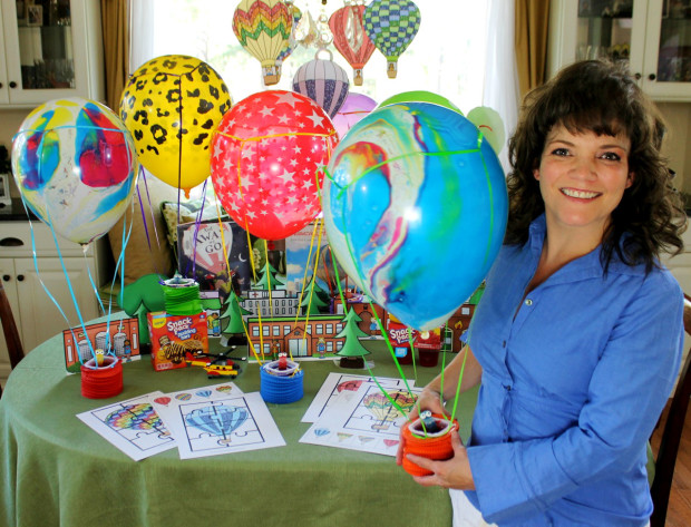 Creator of this Hot Air Balloon Craft and Activity Pack - blogger at HappyandBlessedHome