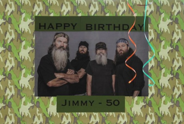 Duck Dynasty Hunting Theme Birthday Party Party Sign HappyandBlessedHome