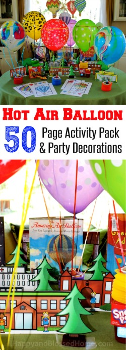 Great-fun-for-kids-Hot-Air-Balloon-50-Page-Activity-Pack-and-Party-Decorations-from-HappyandBlessedHome.com_