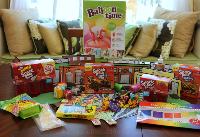 Ingredients and Materials needed to create Hot Air Balloon Craft or Hot Air Balloon party from HappyandBlessedHome