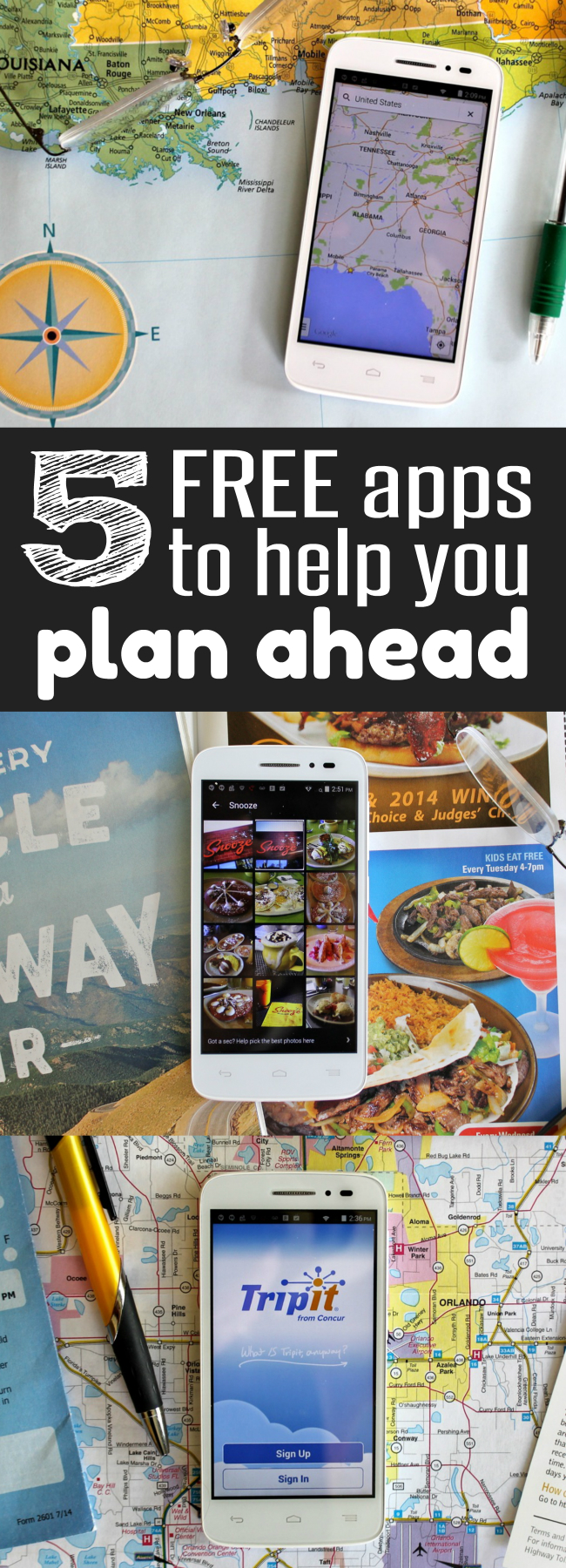 Need a FREE calendar, planning tools, weather alert system and PDA These 5 Free apps to help you plan ahead help you get organized Tips from HappyandBlessed.com