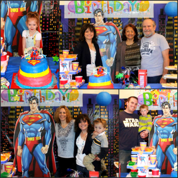 Photo Opportunities with Superman great Family Fun from HappyandBlessedHome.com