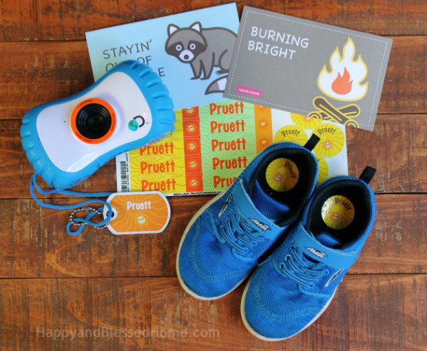 Shoes and Camera for Summer Camp photo copyright 2015 HappyandBlessedHome