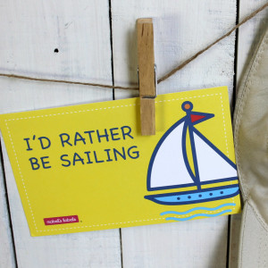 Square I'd rather be sailing