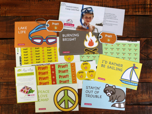 Summer Camp Labels from Mabel's Labels Photo Copyright 2015 HappyandBlessedHome