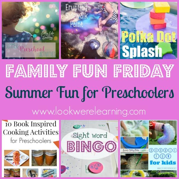 Summer Fun for Preschoolers