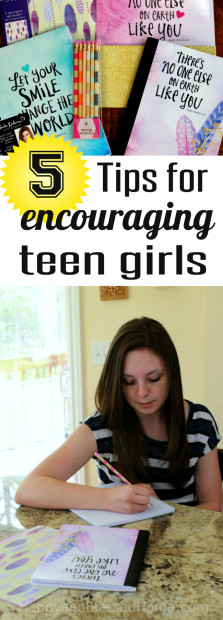 5 Tips for encouraging Teen Girls to set goals and pursue their dreams by HappyandBlessedHome