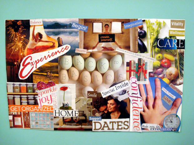 2011 Vision / Dream Board by https://www.flickr.com/photos/thechrists/
