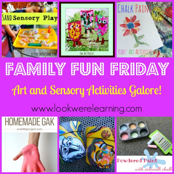 Art and Sensory Activities Galore!