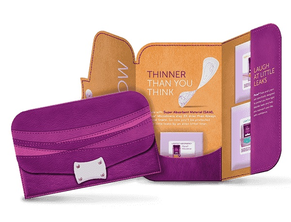 FREE Poise® Thin-Shape pads Sample