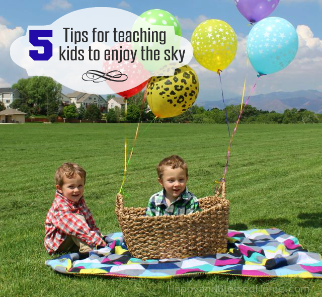 Fun Parenting Tips with 5 Tips for Teaching Kids to Enjoy the Sky photo copyright 2015 HappyandBlessedHome