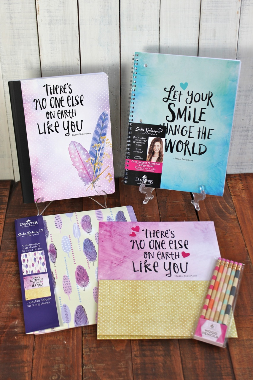 Live Original Journals, Notebooks, and stationary by DaySpring photo copyright 2015 HappyandBlessedHome.com