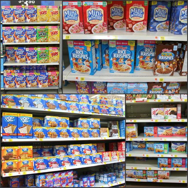 Kellogg's Free Scholastic Book Specially Marked boxes at Walmart