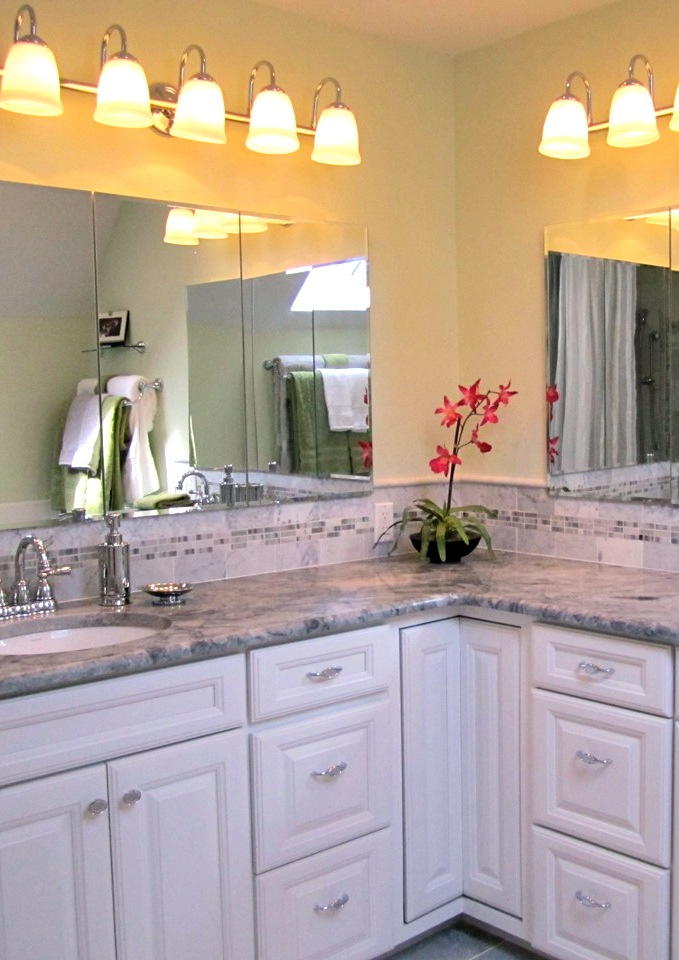Master Bath all clean - an Oasis for Mom and Dad