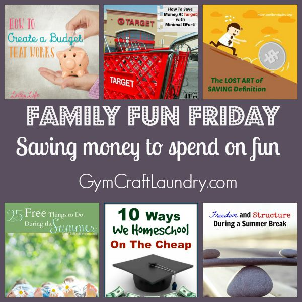 Money Saving family fun