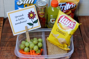 Spread a Little Sunshine with FREE Lunch Box Notes from HappyandBlessedHome