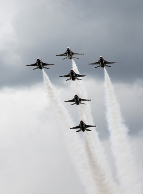Thunderbirds at an air show upside down photo copyright 2015 HappyandBlessedHome