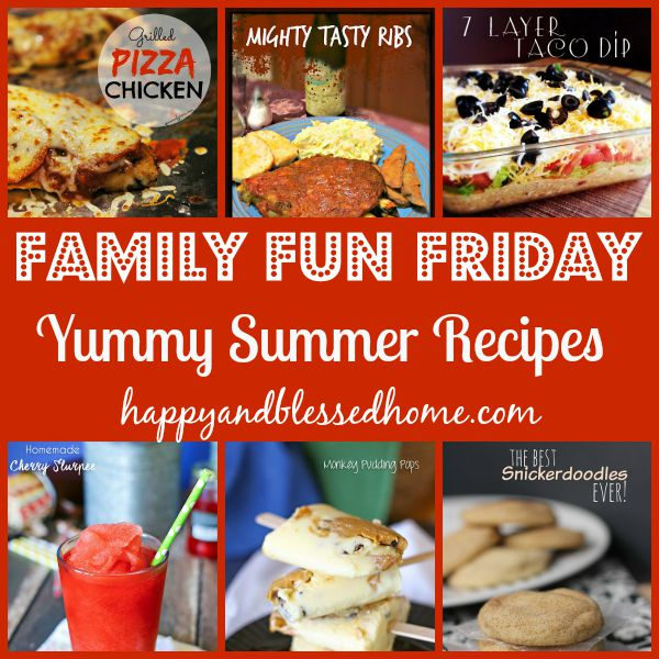 family fun friday yummy recipes