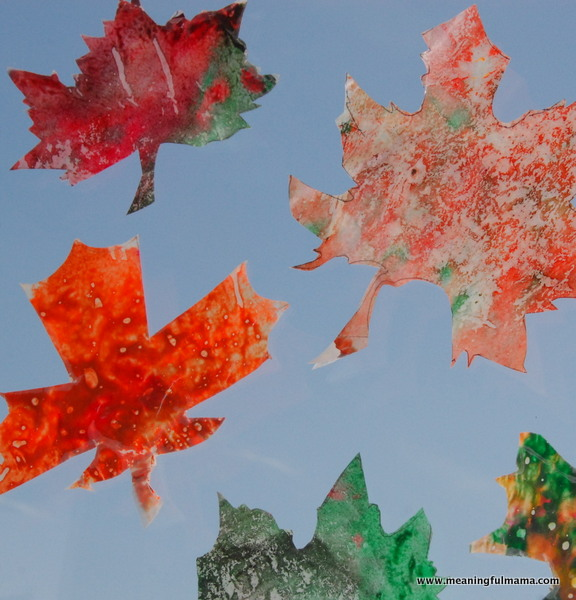 1-leaf-melted-crayon-art-craft