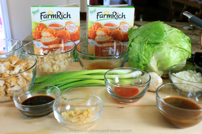 Copycat PF Changs Chicken Lettuce Wraps Recipe Ingredients