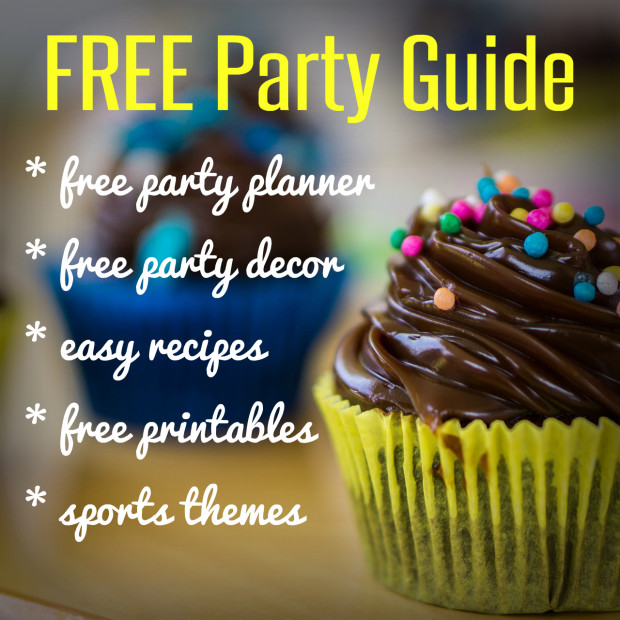 FREE Party Guide from HappyandBlessedHome.com