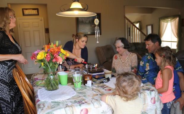 We celebrated Nanas 78th Birthday