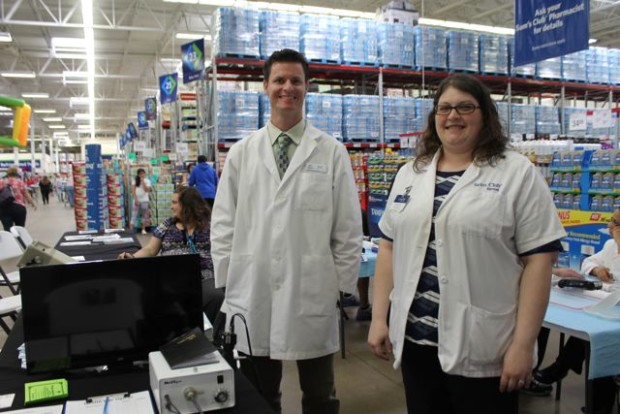 Sam's Club Health Screenings are free to the public and open to non-members