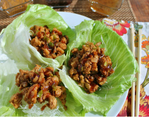 Tasty PF Chang's Chicken Lettuce Wraps Under 30 Minutes Copycat recipe by HappyandBlessedHome