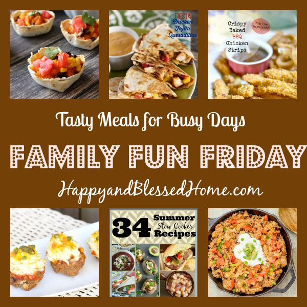 Tasty meals for busy days