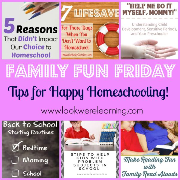 Tips for Happy Homeschooling