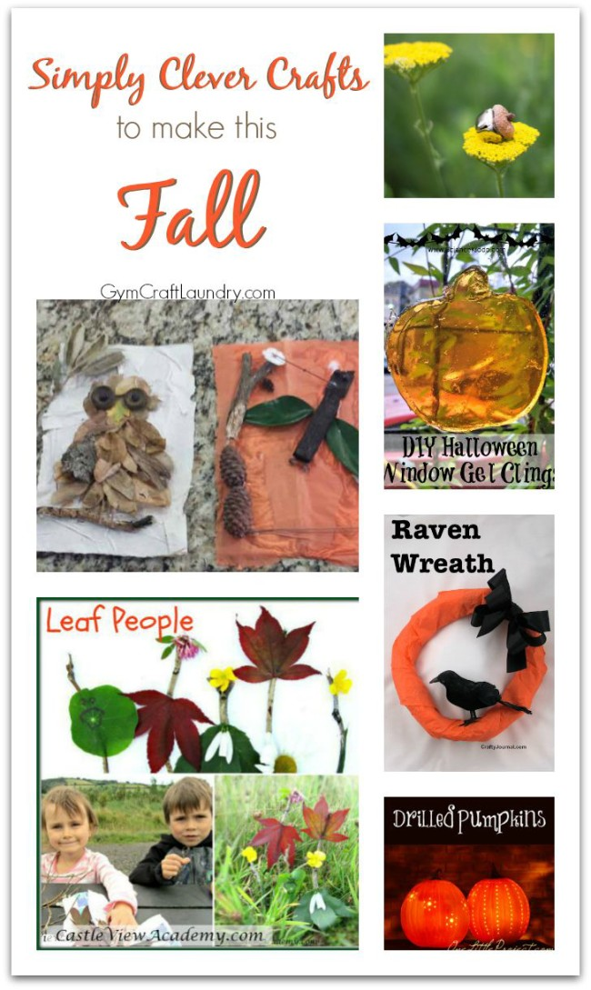 Clever Autumn Crafts