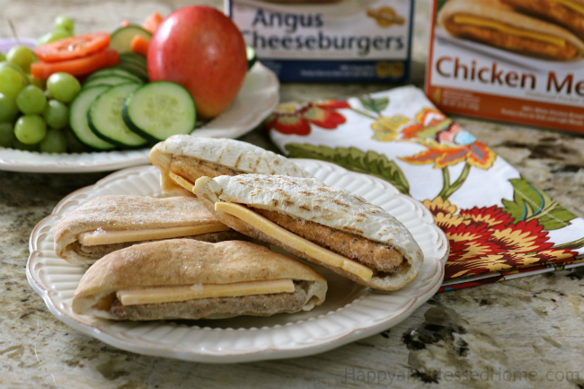 Easy Recipe for Tasty Flatbread Pocket Sandwiches - ready in minutes